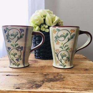 Other - Pair of Adorable Pottery Mugs!